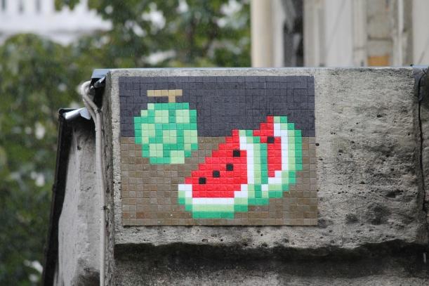 Invader Melon