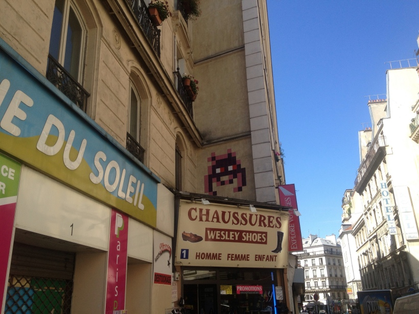 Invader Paris Pink