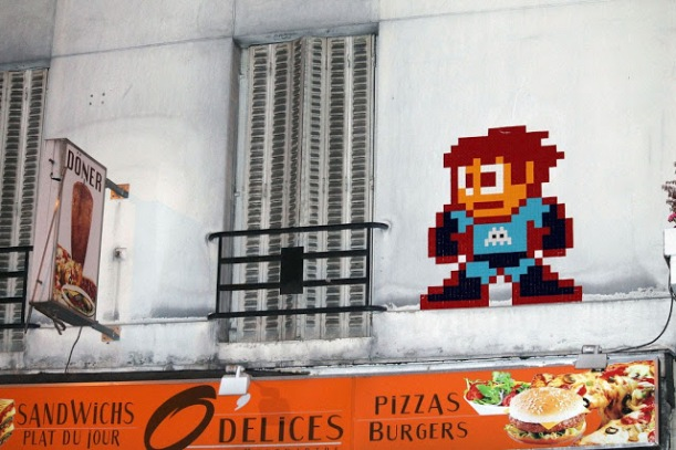 Invader paris