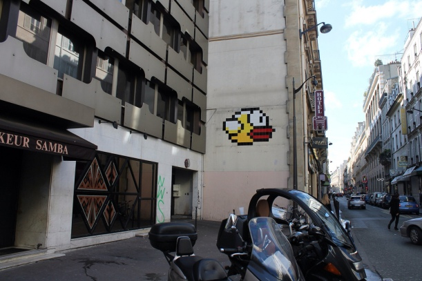 Paris Flappy Bird