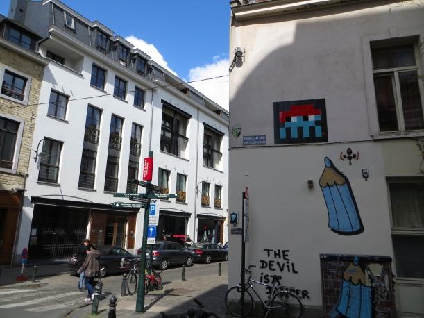 Invader Brussels 5